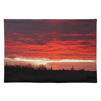 Red at Night, sailors delight Placemat