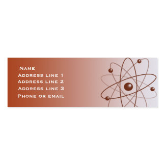 Red Atom Business Card