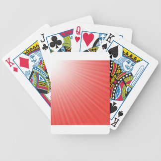 red background bicycle playing cards
