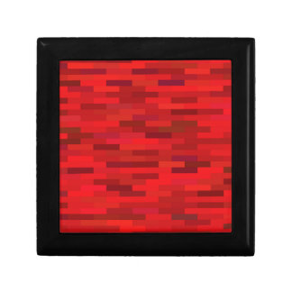 Red background gift box