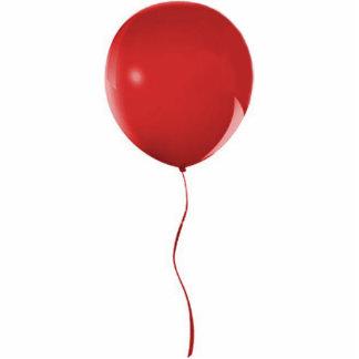 Red Balloon 1 Ornament Photo Sculpture Decoration