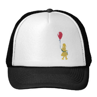 red balloon. cap