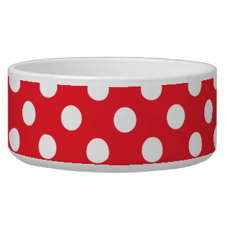 Red Band White Polka Dots