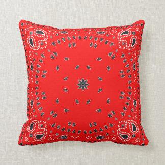 Red Bandana Cushion