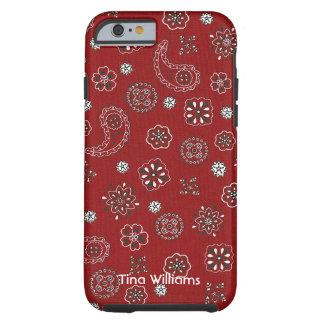 Red Bandana iPhone 6 case Tough iPhone 6 Case