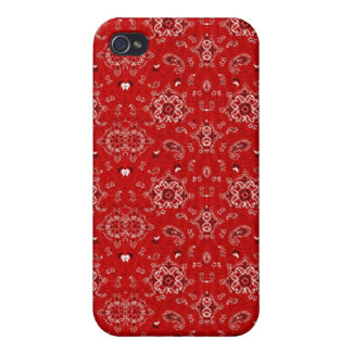 Red Bandana Speck Case iPhone 4/4S Covers