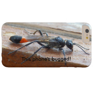 Red Banded Sand Wasp Bugged iPhone Case
