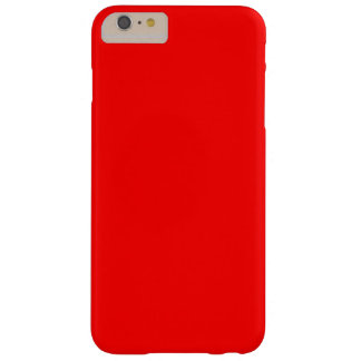 Red Barely There iPhone 6 Plus Case