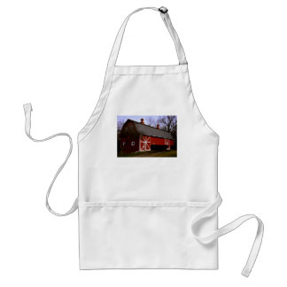 Red Barn Adult Apron
