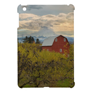 Red Barn at Pear Orchard Oregon iPad Mini Cover