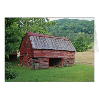 Red Barn Note Card