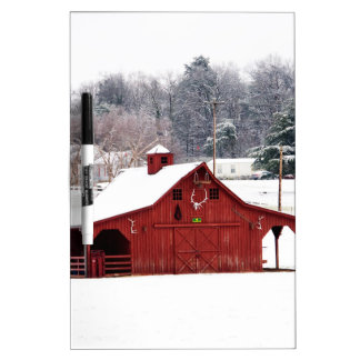 red barn dry erase board