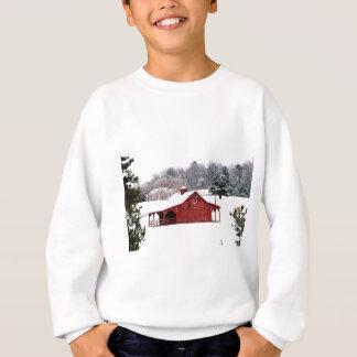red barn sweatshirt