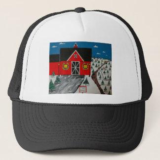 Red Barn Tree Farm Trucker Hat
