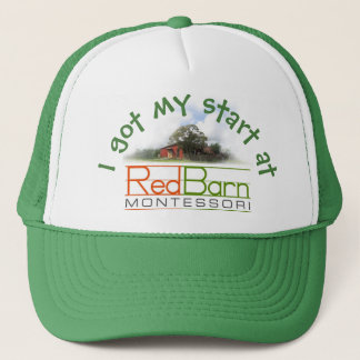 Red Barn Trucker Hat