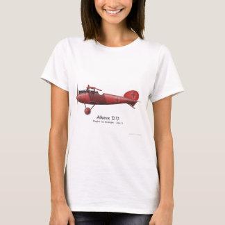 Red Baron aka Manfred von Richthofen and his plane T-Shirt