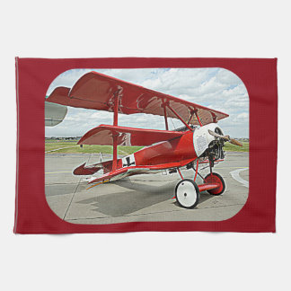Red Baron's triplane Hand Towels