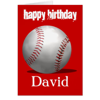 Baseball Birthday Cards Invitations Zazzlecomau