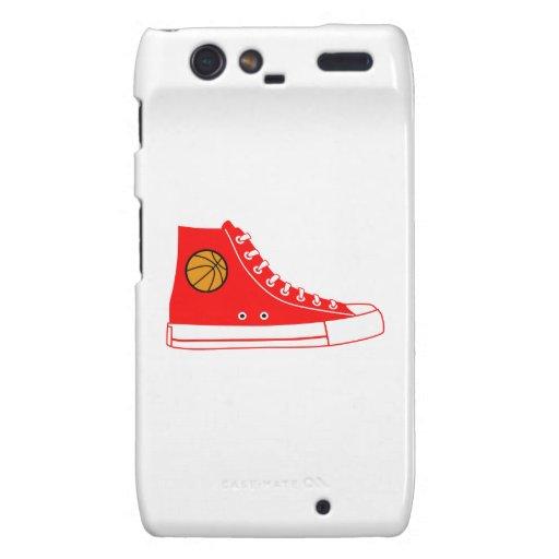 Red Basketball Sneaker Motorola Droid RAZR Covers