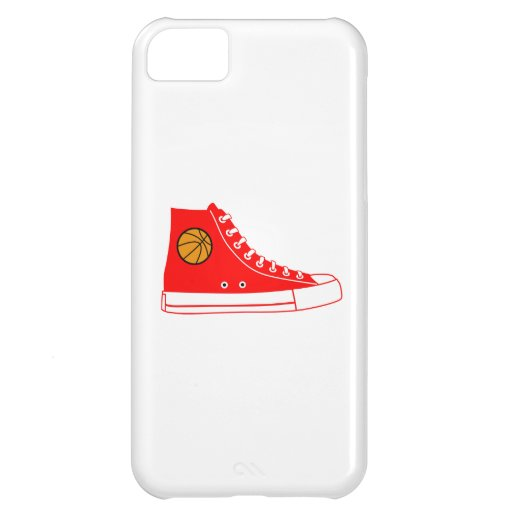Red Basketball Sneaker iPhone 5C Cover