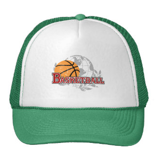 Red Basketball Tshirts and Gifts Cap