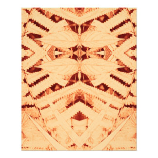 red batik crown close-up & pattern Thin Paper