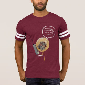 Red Bean Pudding | Men Football T-Shirt