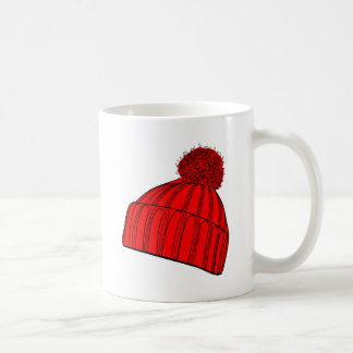 Red Beanie Coffee Mug