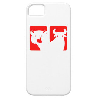 Red Bear And Bull iPhone 5 Cover