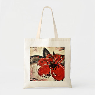 RED BEAUTY budget tote