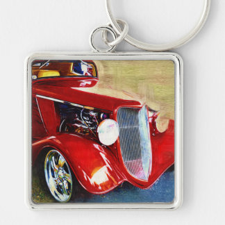 Red Beauty - Classic Collector's Car Key Chains