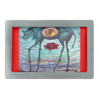 RED Beauty is in the eye of the Beholder- Belt Buckle
