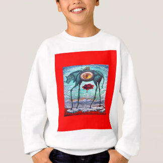 RED Beauty is in the eye of the Beholder- Sweatshirt