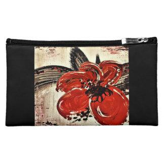 RED BEAUTY medium cosmetic bag
