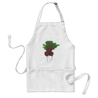 Red Beet Vegetable Veggie Vegetarian Foodie Cook Standard Apron