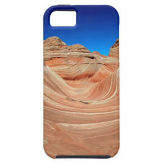 Red, Beige and yellow striping in wind  and iPhone 5 Case