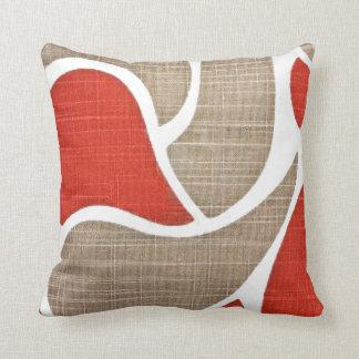 Red & Beige Cushion
