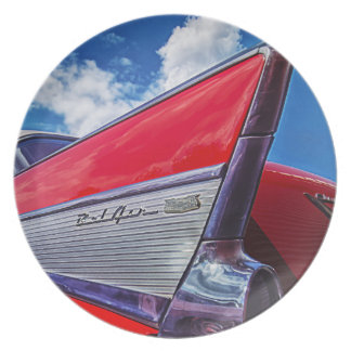 Red Bel Air Plates
