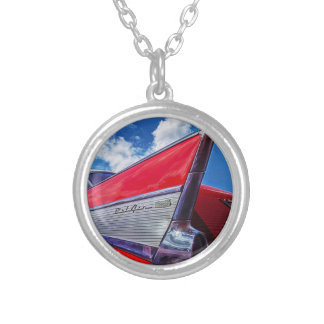 Red Bel Air Silver Plated Necklace