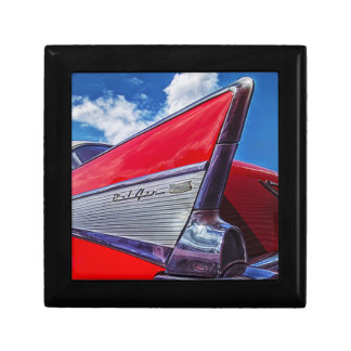 Red Bel Air Small Square Gift Box