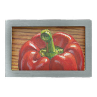 Red Bell Pepper Belt Buckles