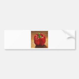Red Bell Pepper Bumper Sticker