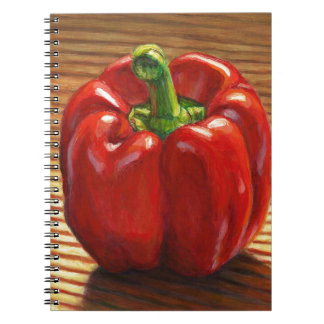 Red Bell Pepper Notebook
