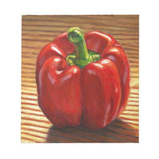 Red Bell Pepper Notepad