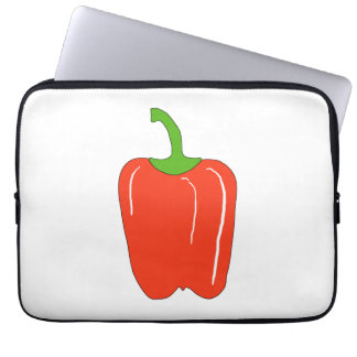 Red Bell Pepper Whole Computer Sleeve