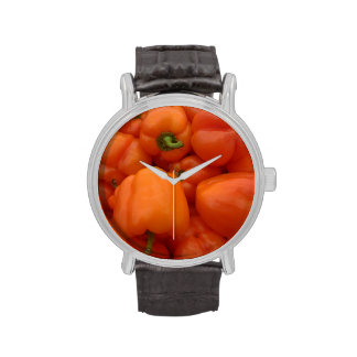 Red Bell Peppers Watches