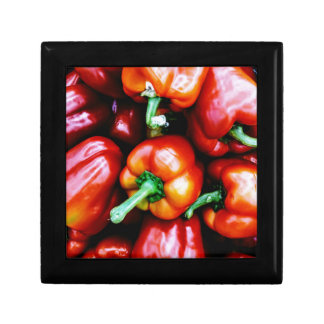 Red Bell Peppers Gift Box