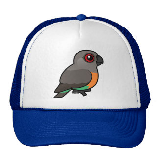 Red-bellied Parrot Mesh Hat