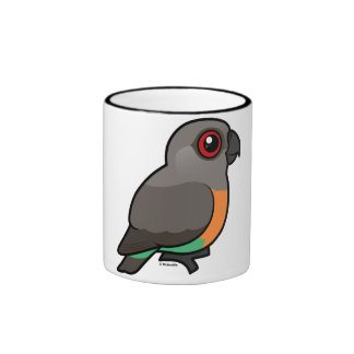 Red-bellied Parrot Coffee Mugs