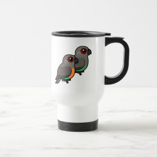 Red-bellied Parrot Pair Mugs